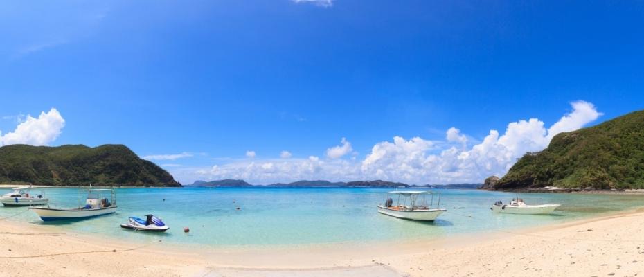 渡嘉敷島 とかしくビーチ