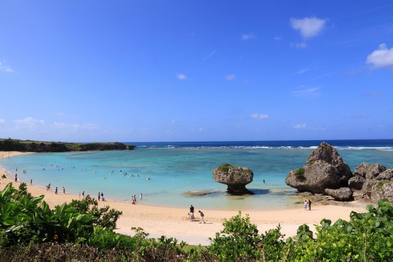沖縄本島ビーチ