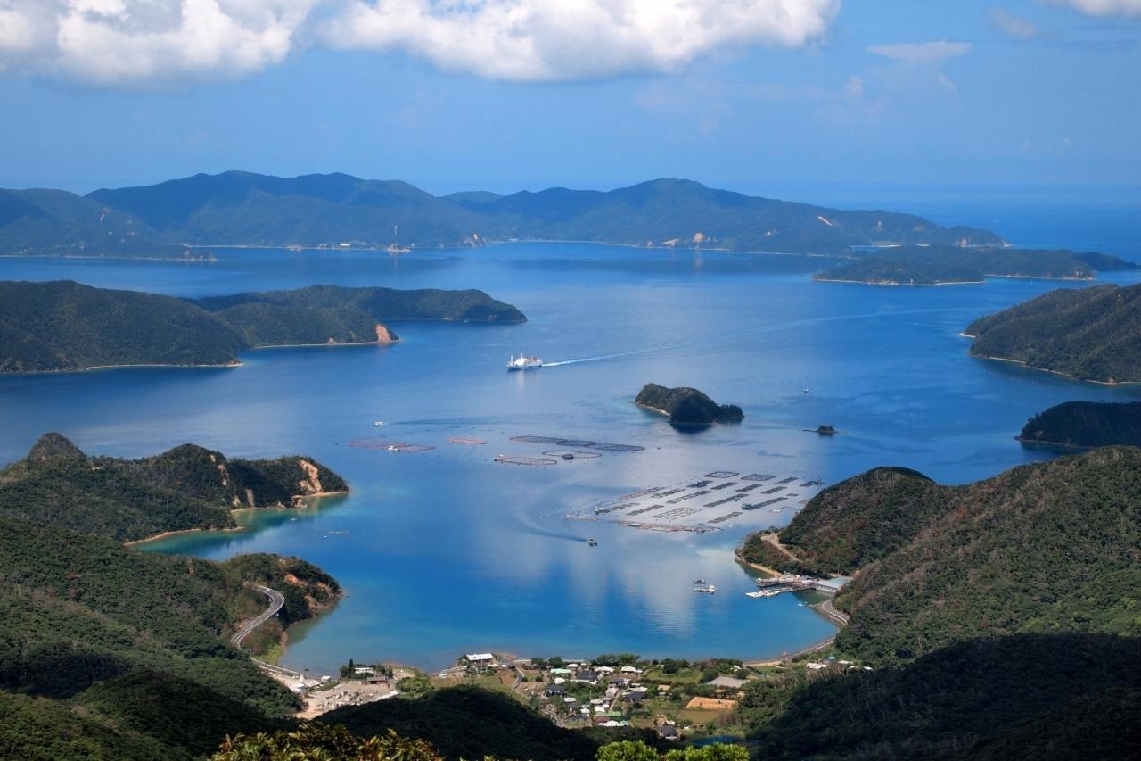 奄美大島 大島海峡