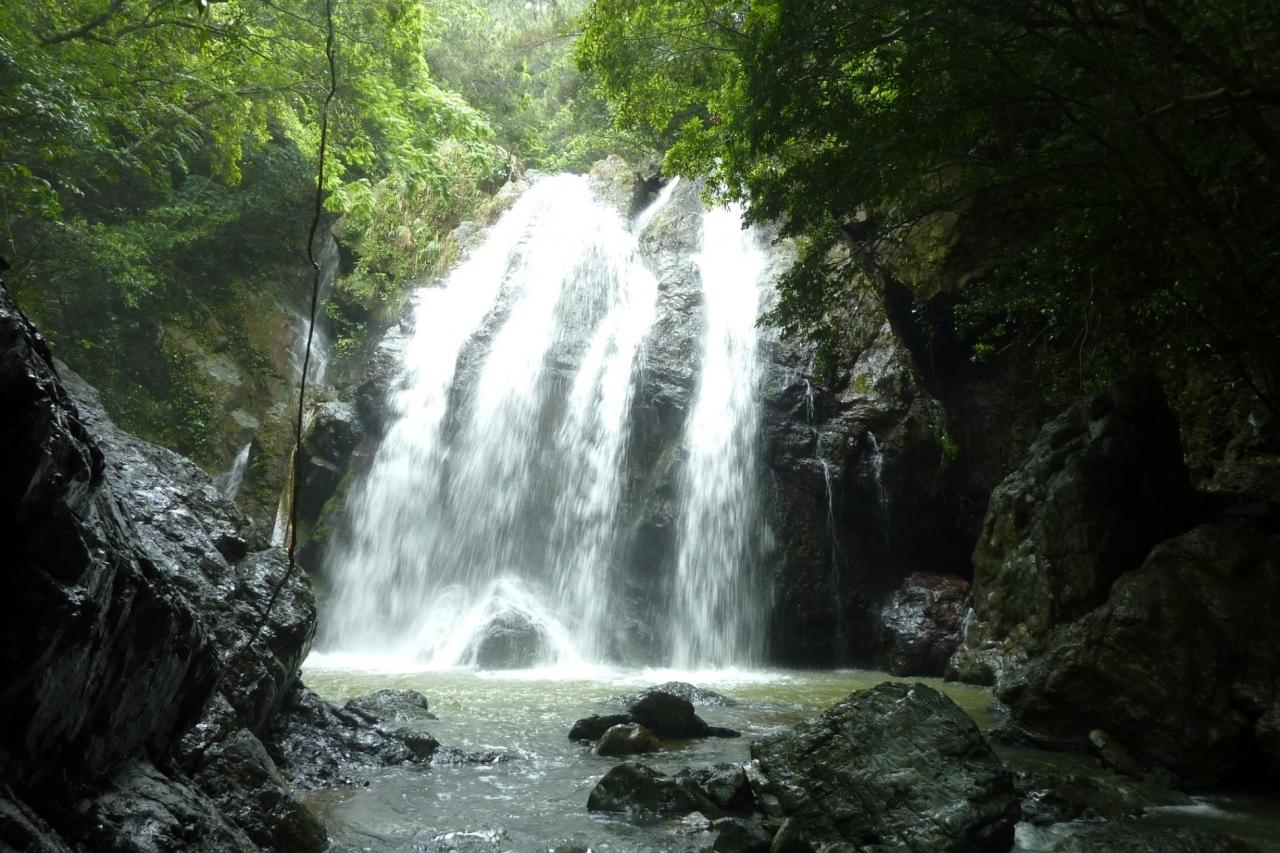 徳之島 大瀬川の滝