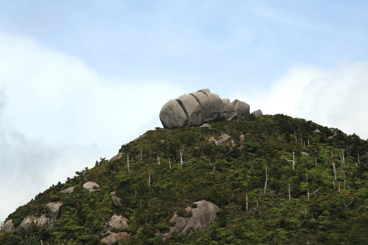 屋久島 トーフ岩