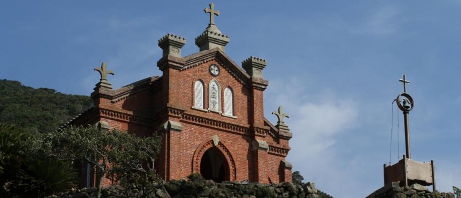 五島列島 野首天主堂