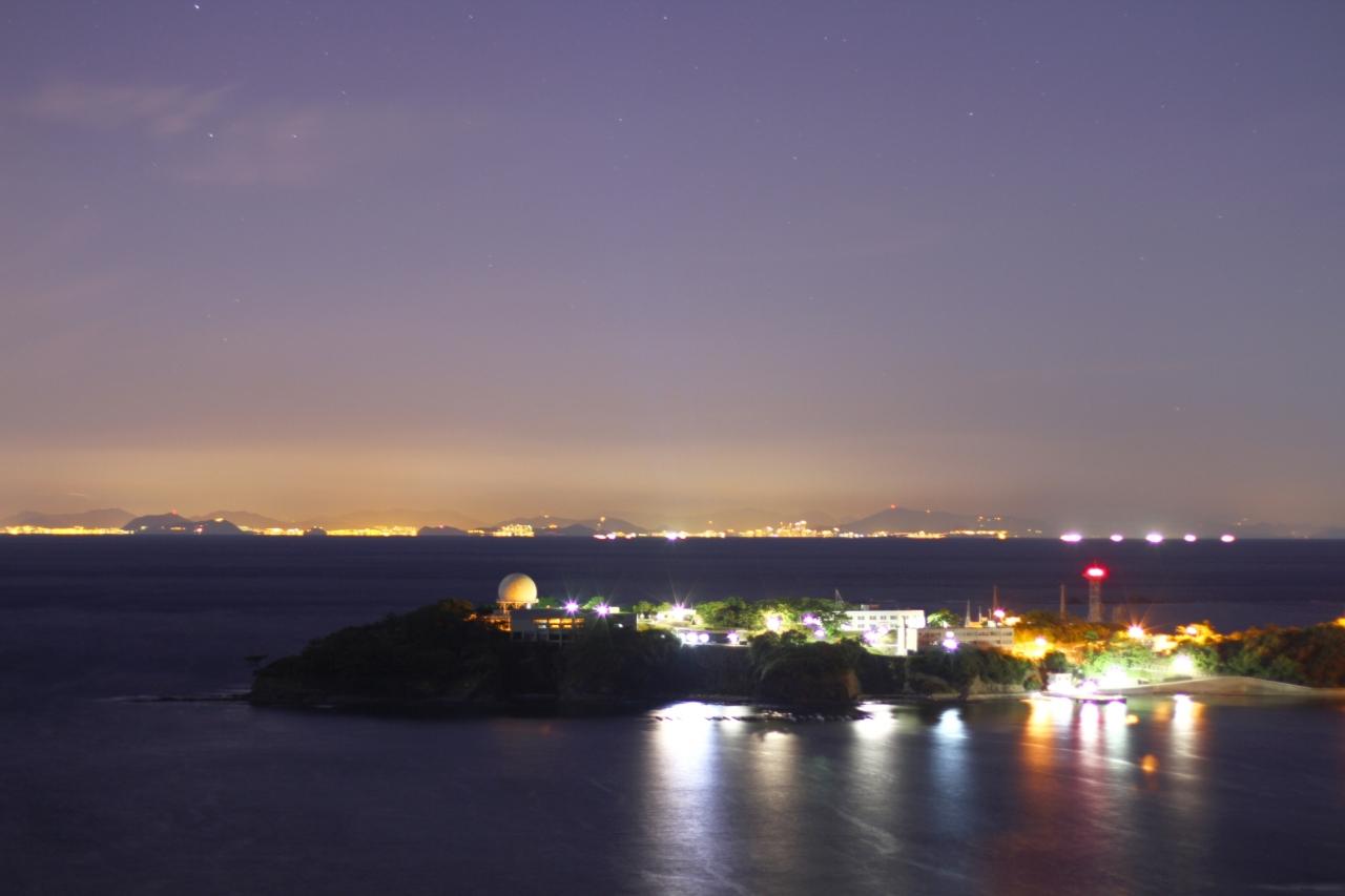 対馬 夜景