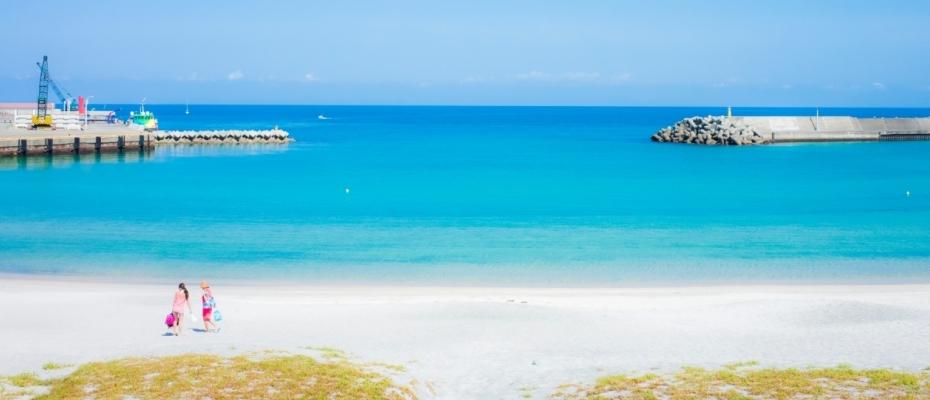 新島 本村前浜海岸