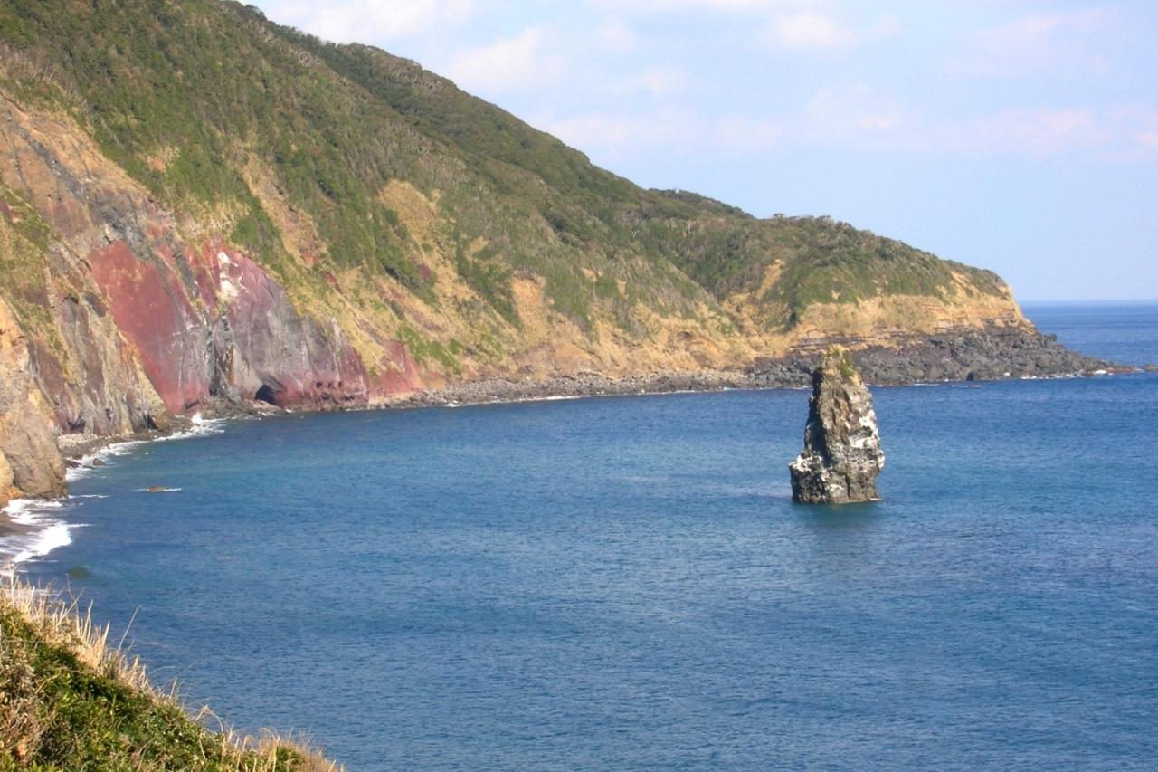 伊豆大島 筆島