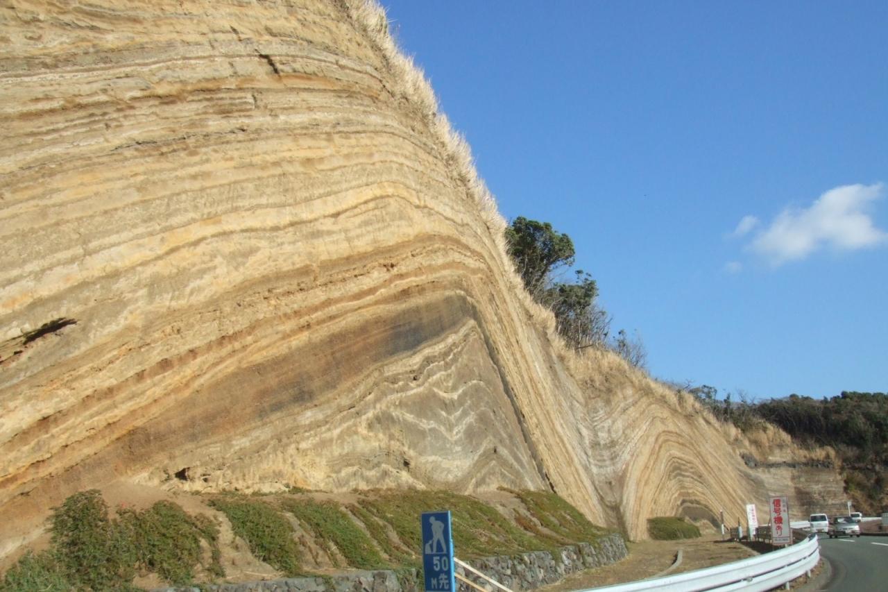 伊豆大島 地層